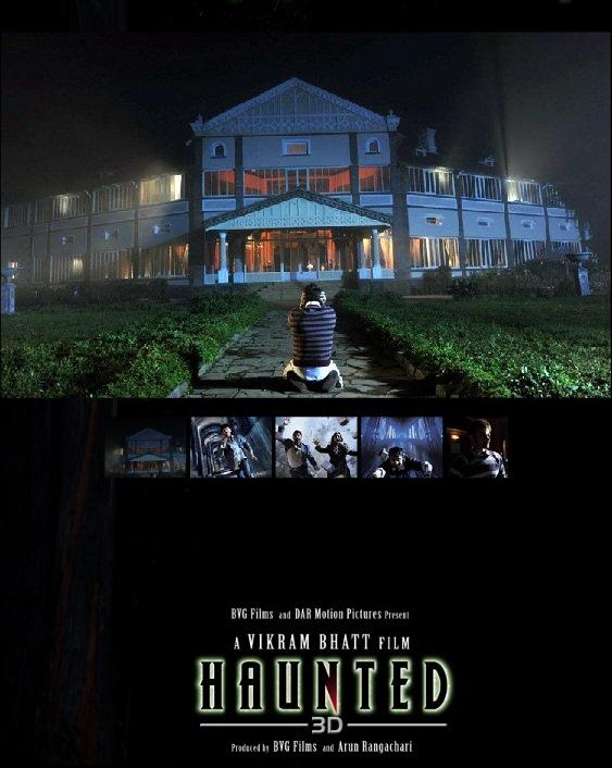 Haunted - Movie Poster #1 (Original)