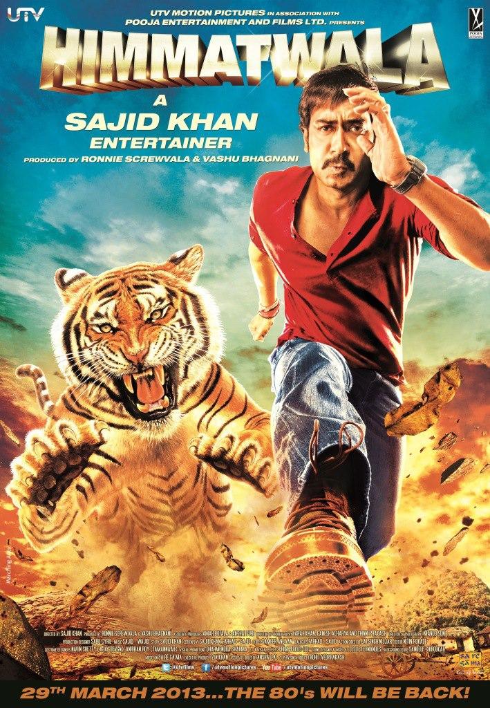 Himmatwala - Movie Poster #1 (Original)