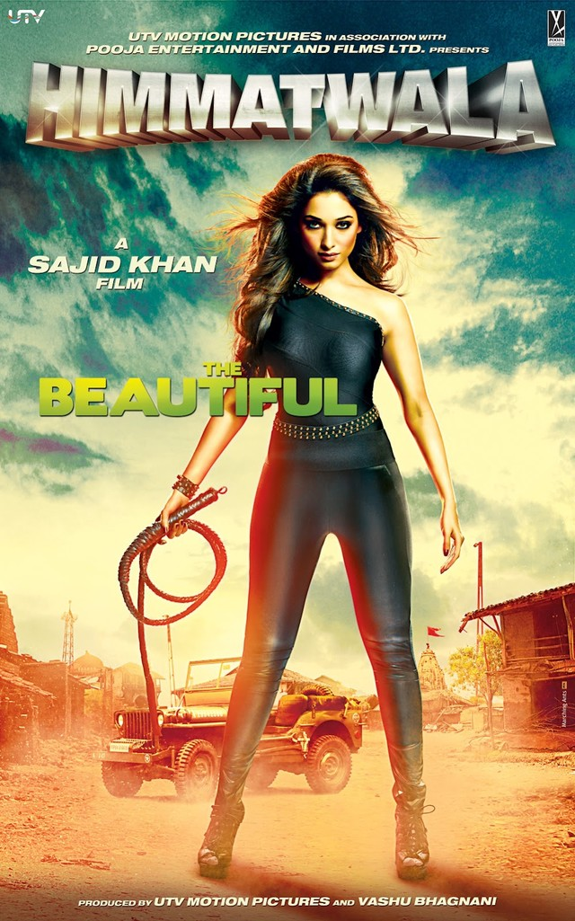 Himmatwala - Movie Poster #2