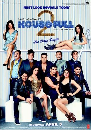 Housefull 2 - Movie Poster #1 (Small)