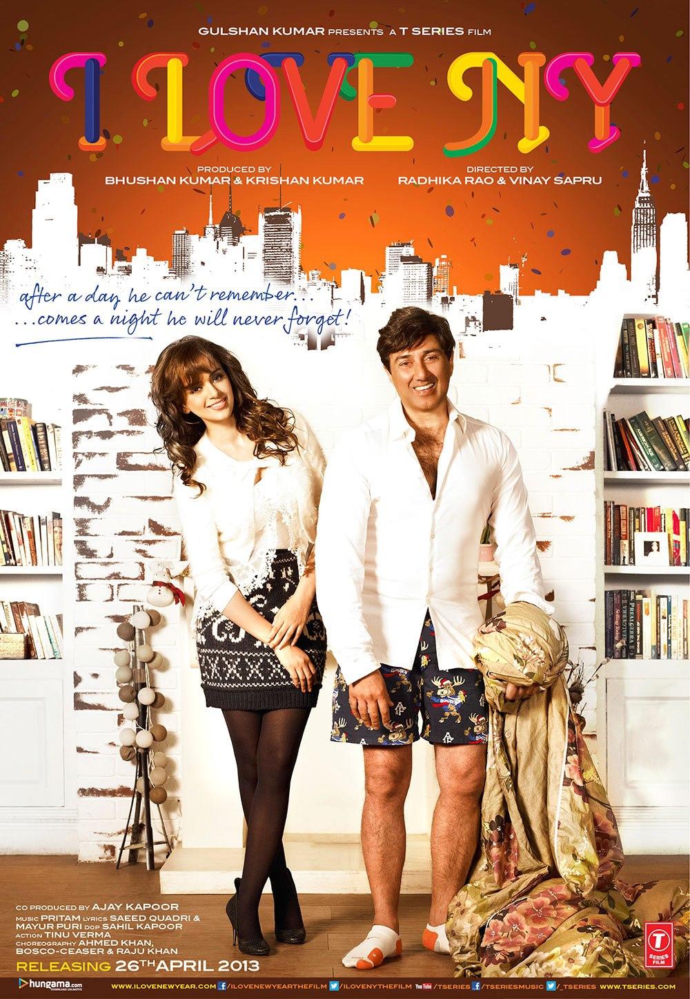 I Love New Year - Movie Poster #1 (Original)