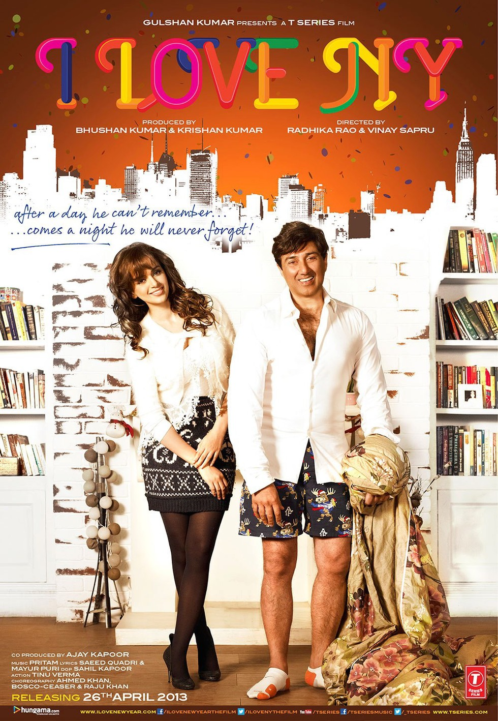 I Love New Year - Movie Poster #1 (Large)