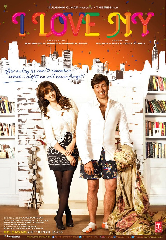 I Love New Year - Movie Poster #1