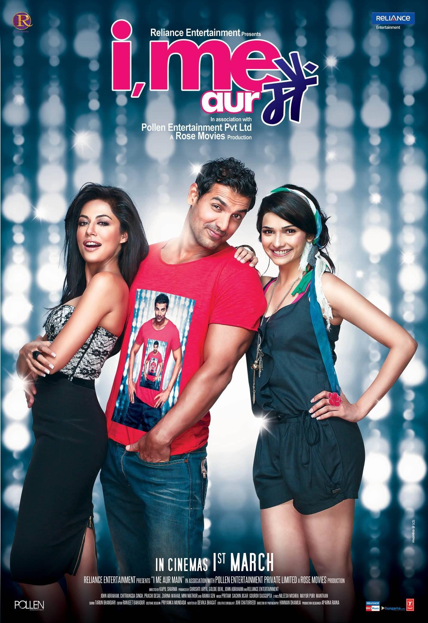 I, Me Aur Main - Movie Poster #1 (Original)