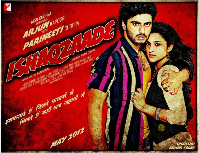 Ishaqzaade - Movie Poster #2 (Medium)