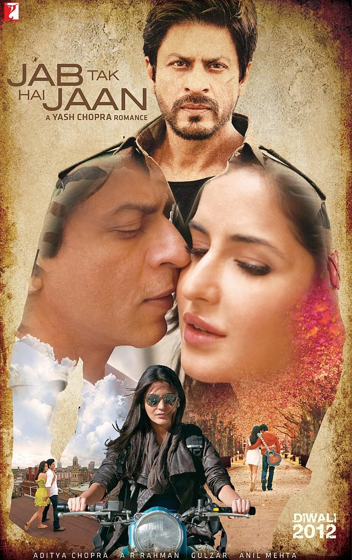 Jab Tak Hai Jaan - Movie Poster #1 (Original)