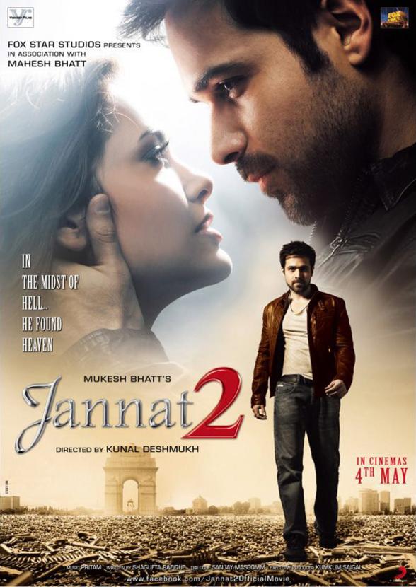 Jannat 2 - Movie Poster #1 (Original)