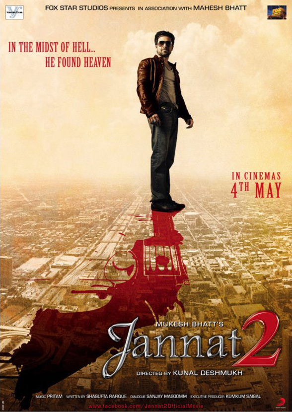 Jannat 2 - Movie Poster #3 (Original)