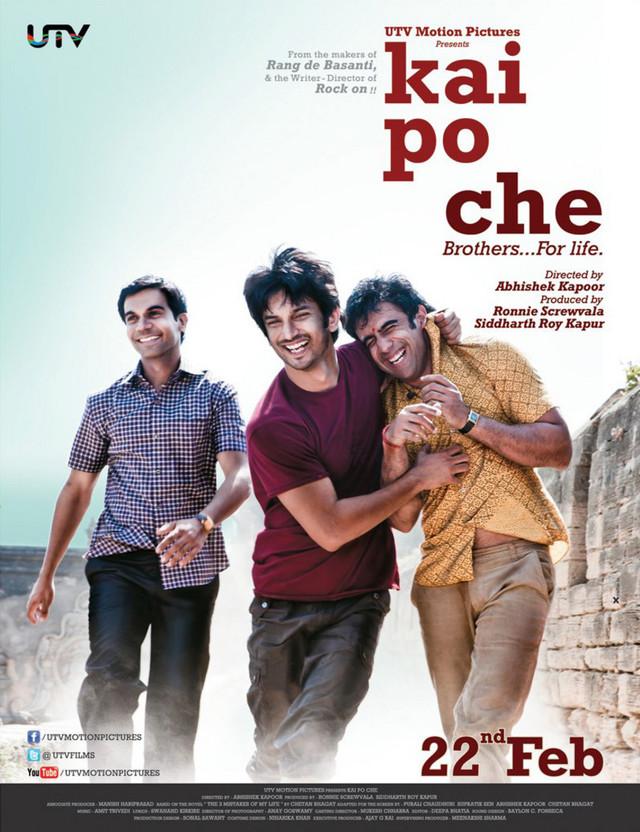 Kai Po Che! - Movie Poster #1