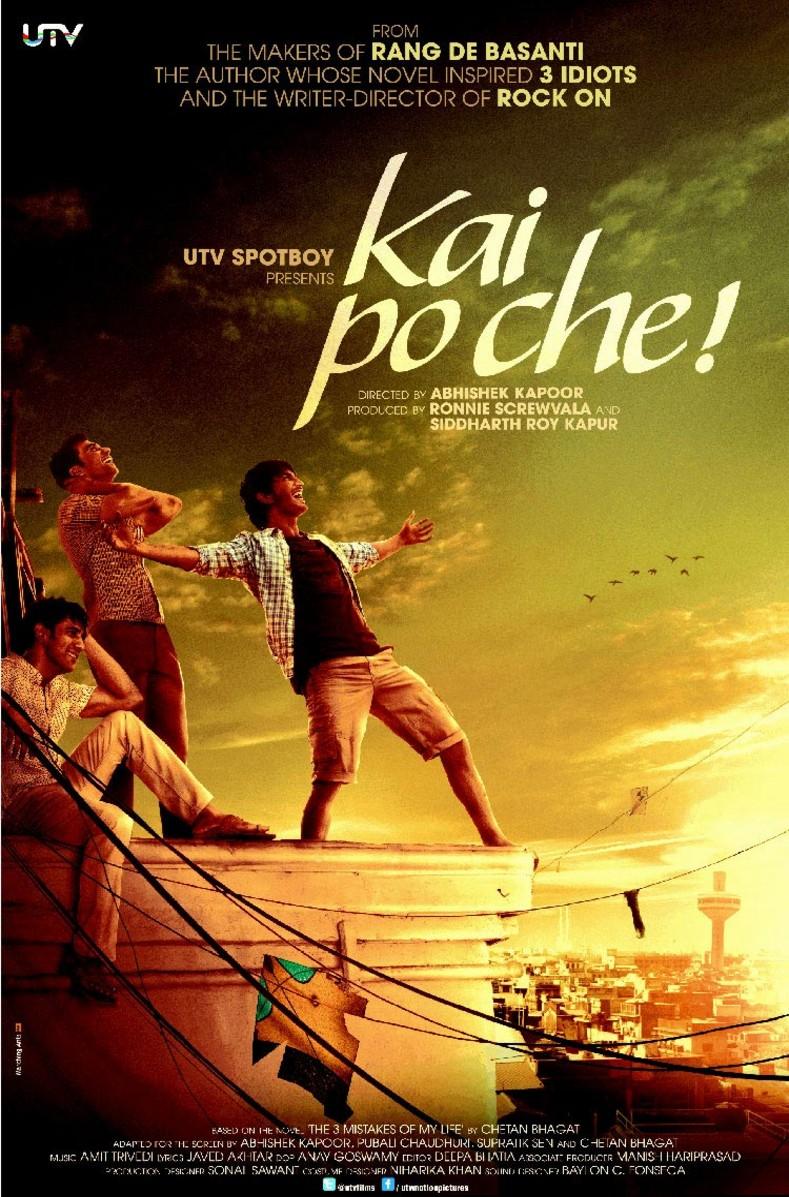 Kai Po Che! - Movie Poster #2 (Original)