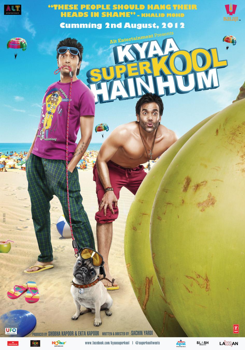 Kyaa Super Kool Hain Hum - Movie Poster #1 (Original)
