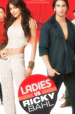 Ladies VS Ricky Bahl Small Poster