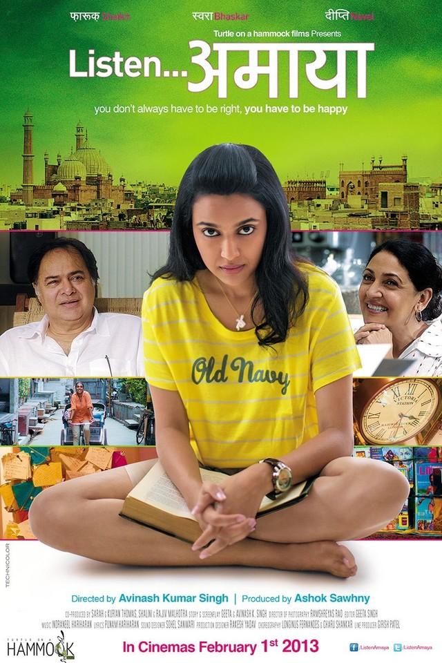 Listen Amaya - Movie Poster #1