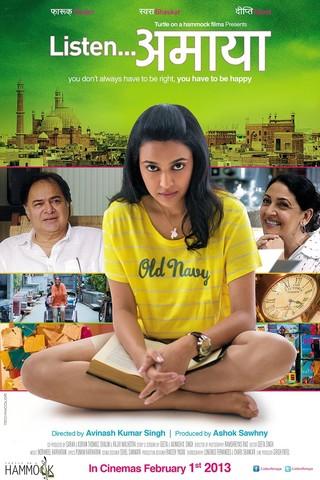 Listen Amaya - Movie Poster #1 (Small)
