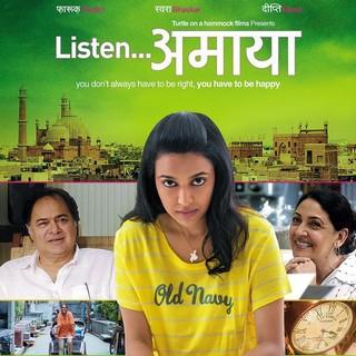 Listen Amaya - Movie Poster #3 (Small)