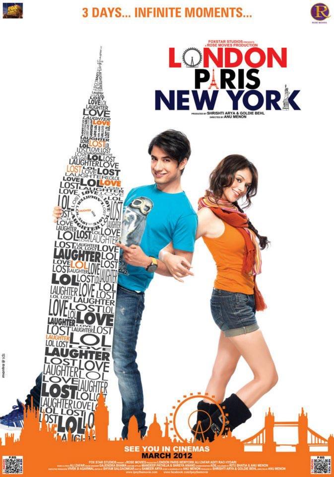 London Paris New York - Movie Poster #2 (Original)