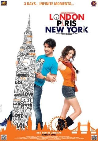 London Paris New York - Movie Poster #2 (Small)