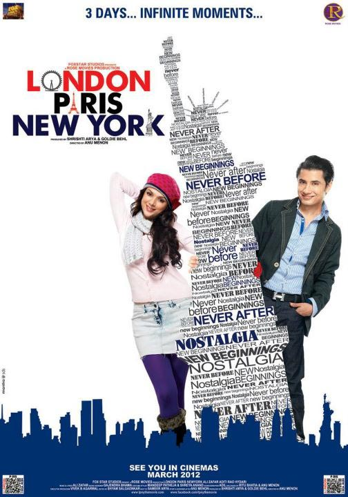 London Paris New York - Movie Poster #3 (Original)