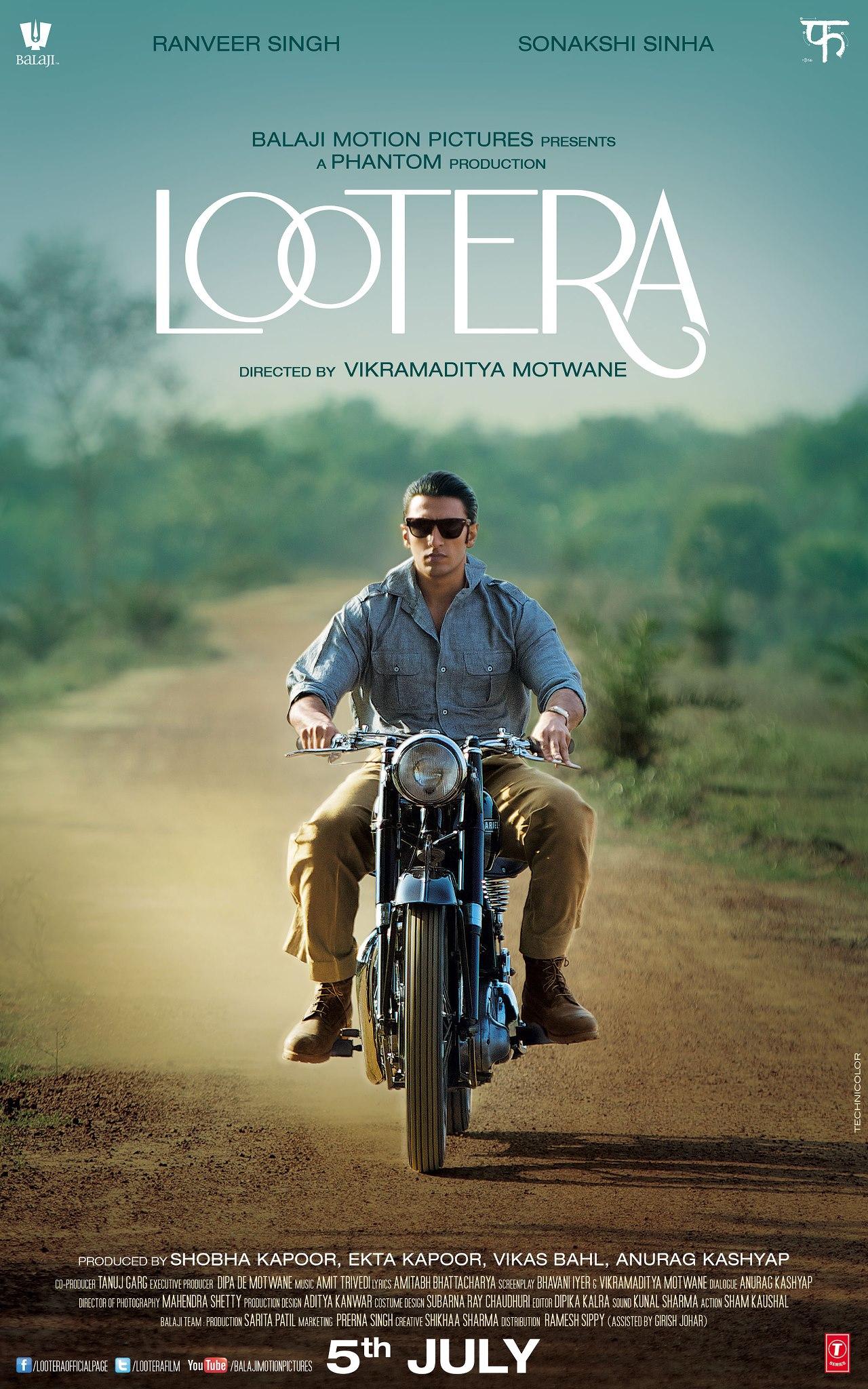Lootera - Movie Poster #1 (Original)
