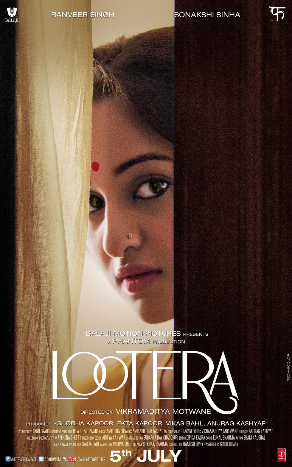 Lootera - Movie Poster #2 (Large)