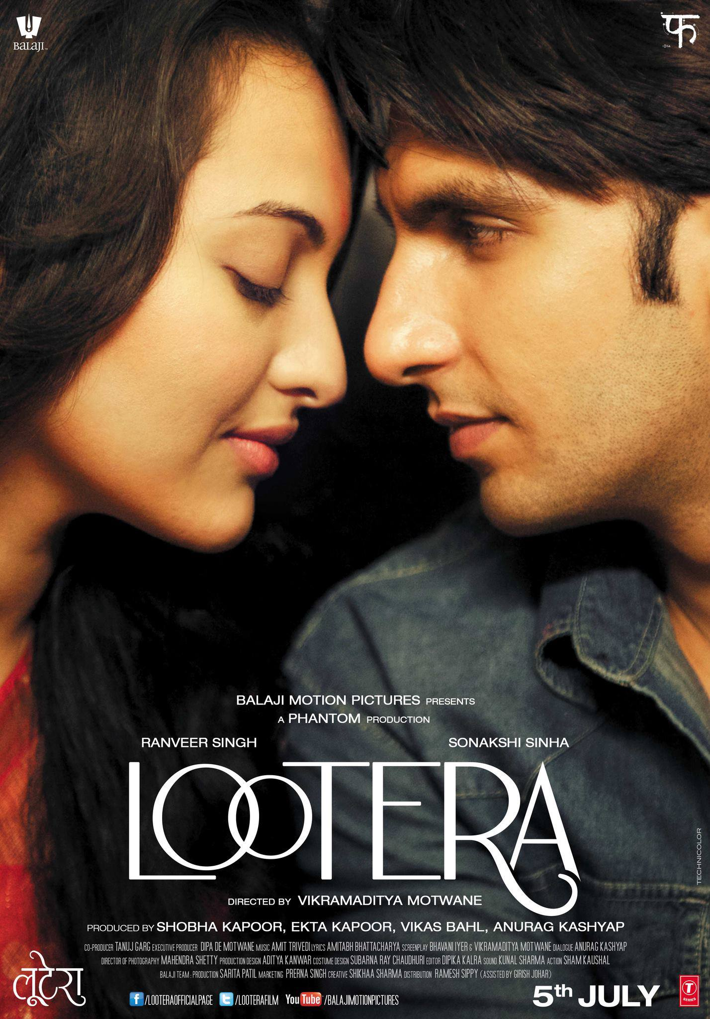 Lootera - Movie Poster #3 (Original)