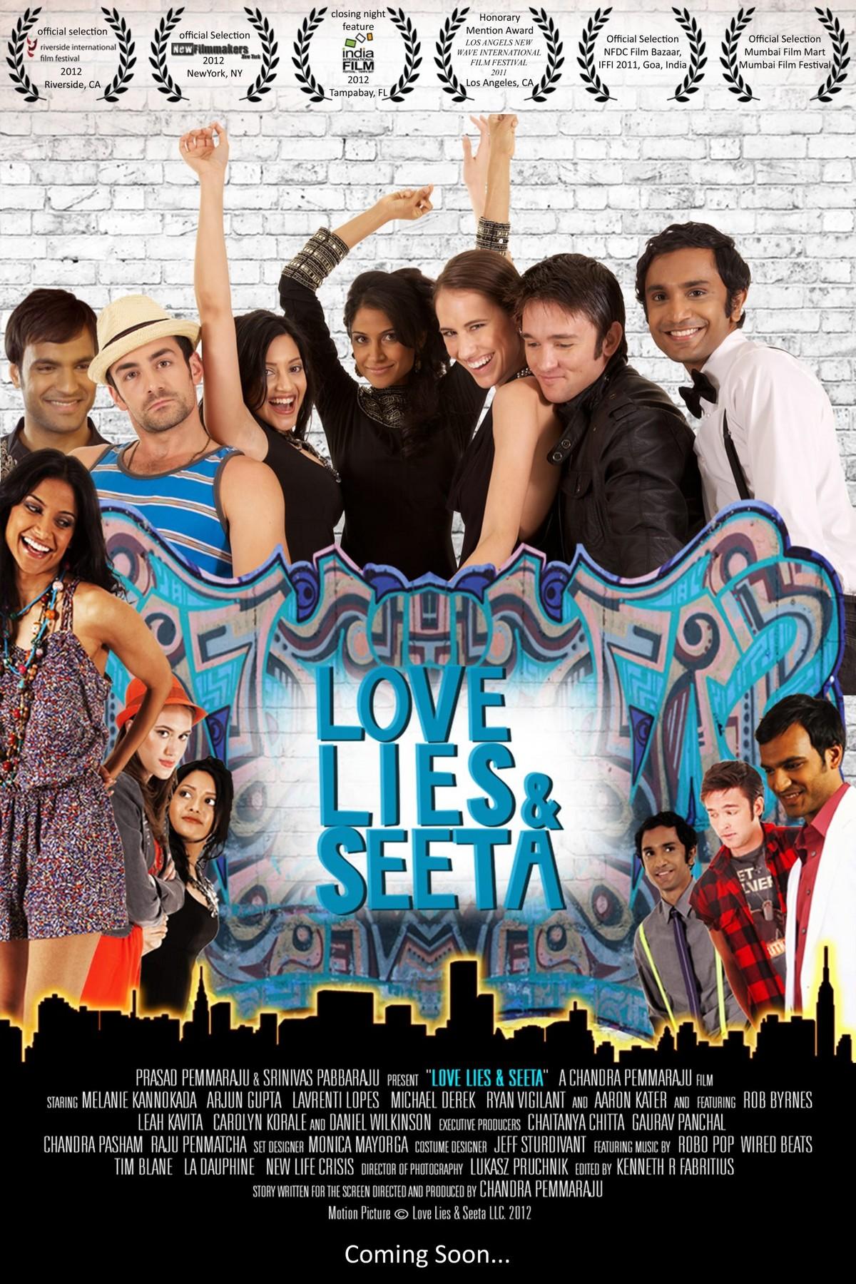Love Lies and Seeta - Movie Poster #1 (Original)