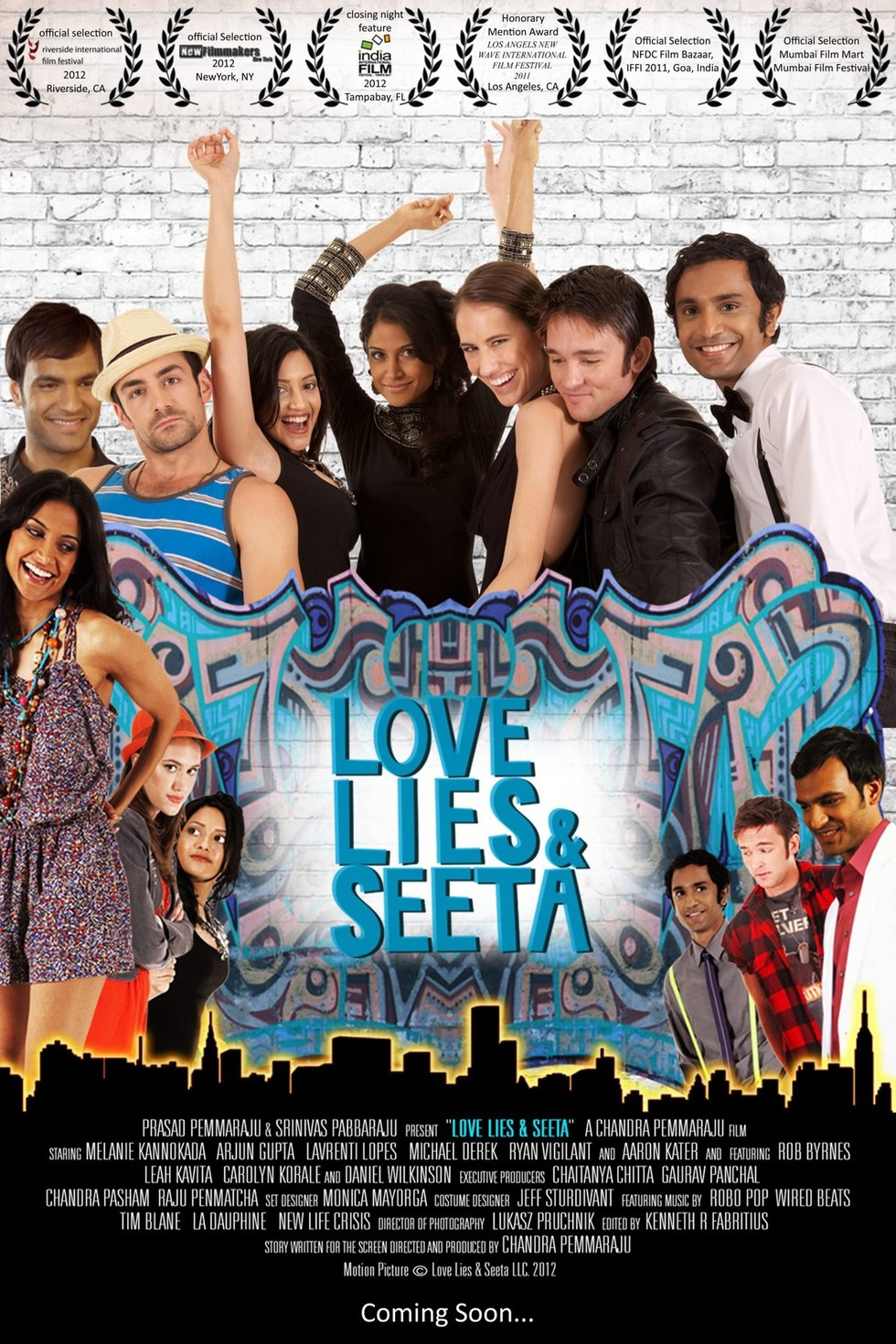 Love Lies and Seeta - Movie Poster #1 (Large)