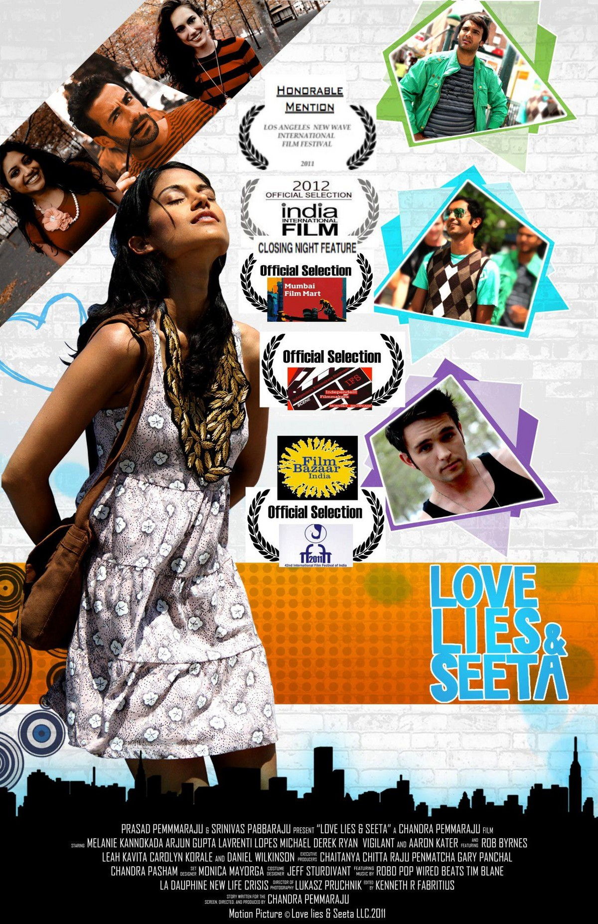 Love Lies and Seeta - Movie Poster #2 (Original)