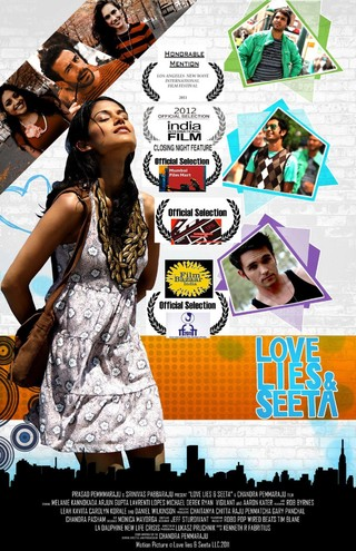 Love Lies and Seeta - Movie Poster #2 (Small)