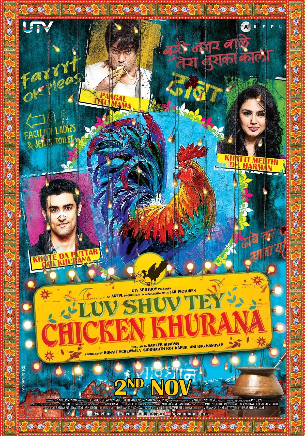 Luv Shuv Tey Chicken Khurana - Movie Poster #1 (Original)