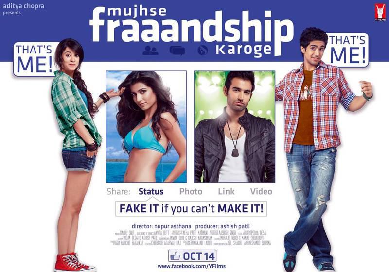 Mujhse Fraaandship Karoge - Movie Poster #2 (Original)