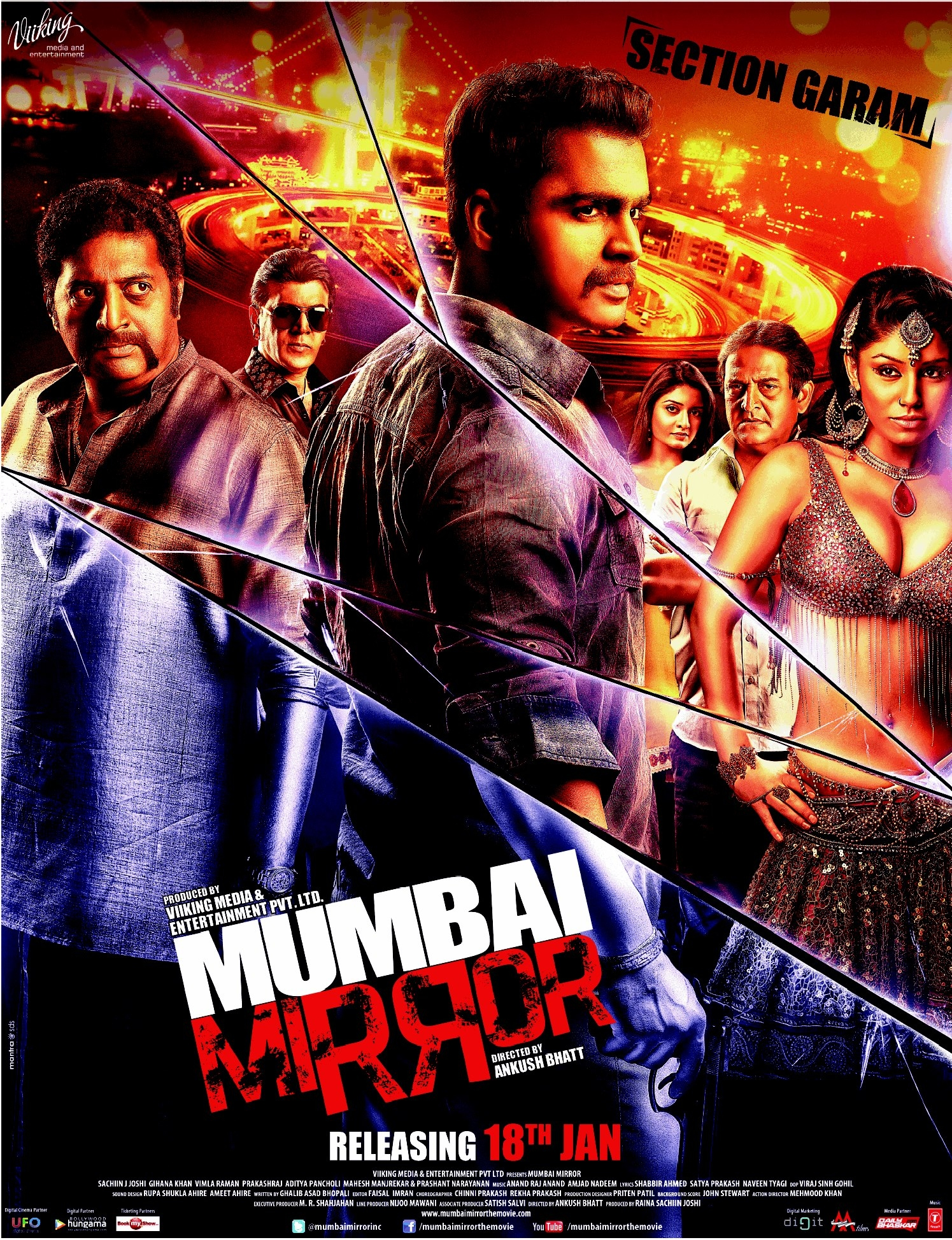 Mumbai Mirror - Movie Poster #1 (Original)