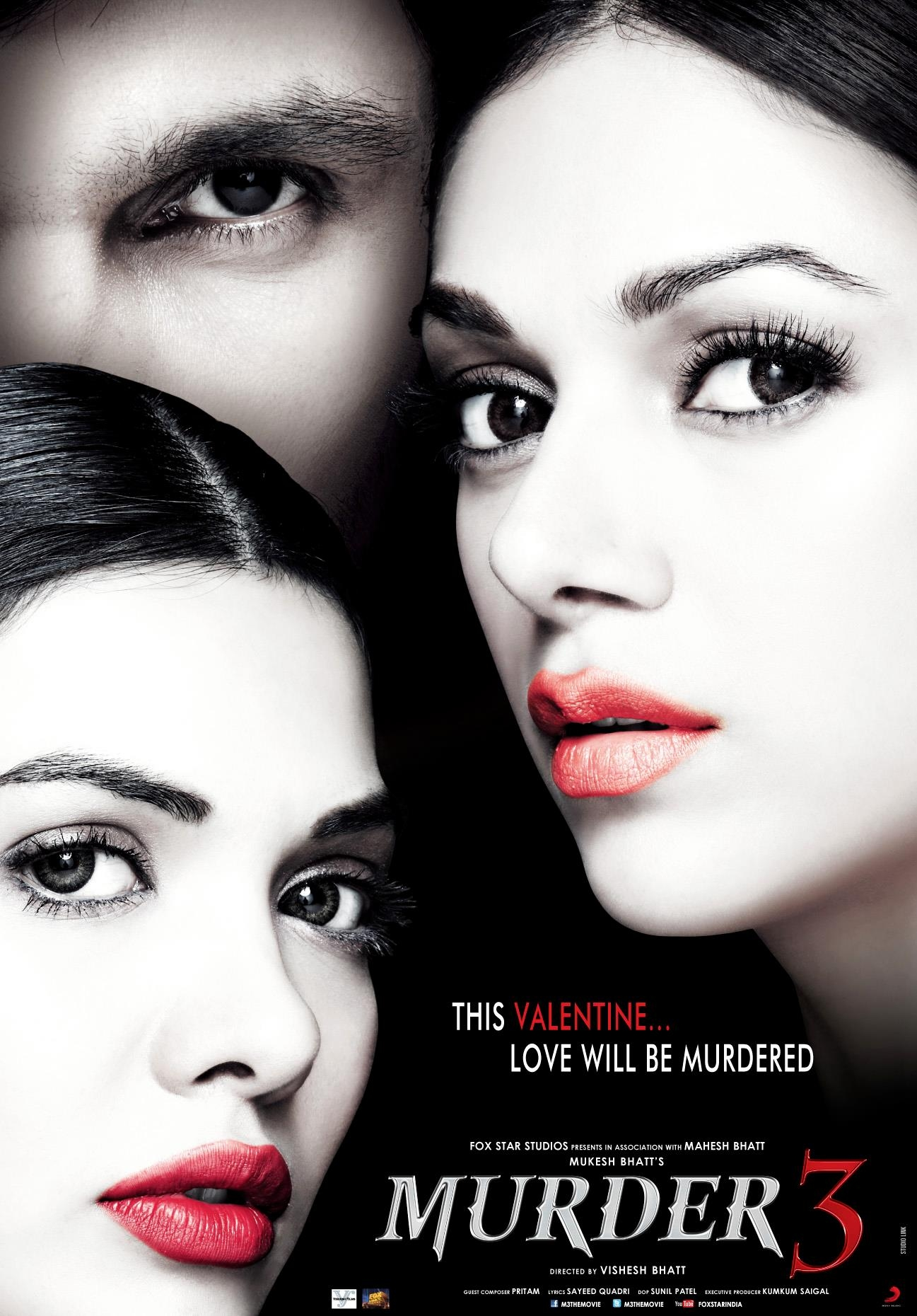 Murder 3 - Movie Poster #1 (Original)