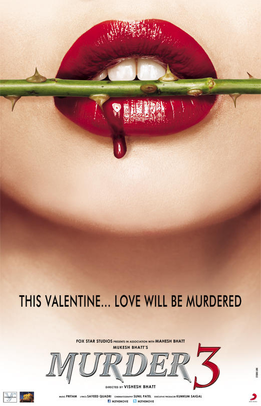 Murder 3 - Movie Poster #2 (Original)