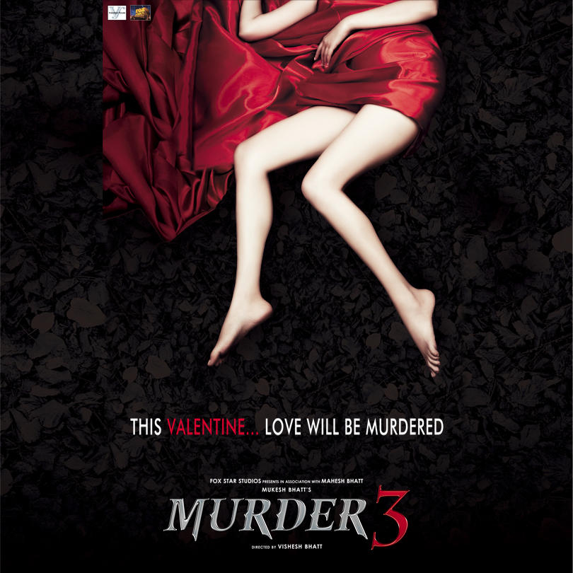 Murder 3 - Movie Poster #3 (Original)