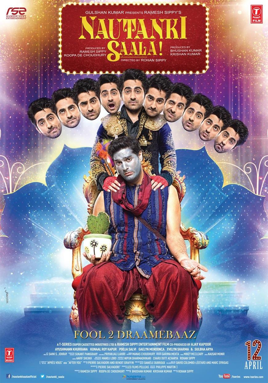 Nautanki Saala! - Movie Poster #2 (Original)