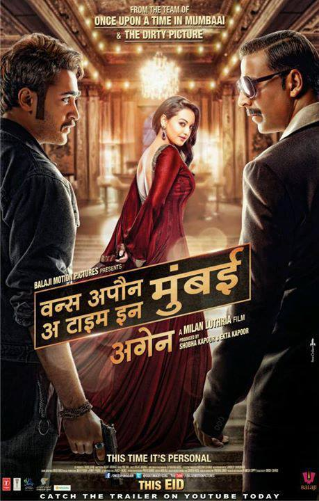 Once Upon A Time In Mumbaai Again - Movie Poster #1 (Original)