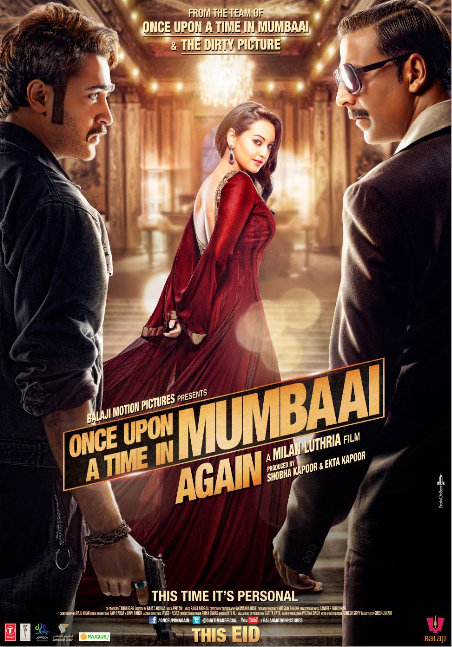 Once Upon A Time In Mumbaai Again - Movie Poster #2 (Original)