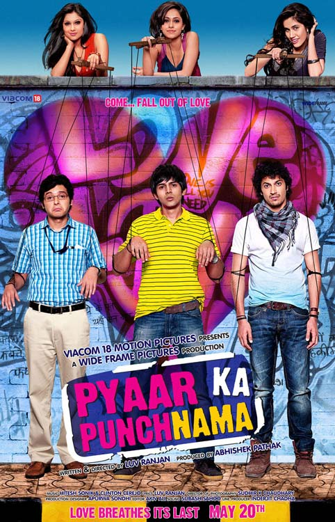 Pyaar Ka Punchnama - Movie Poster #1 (Original)