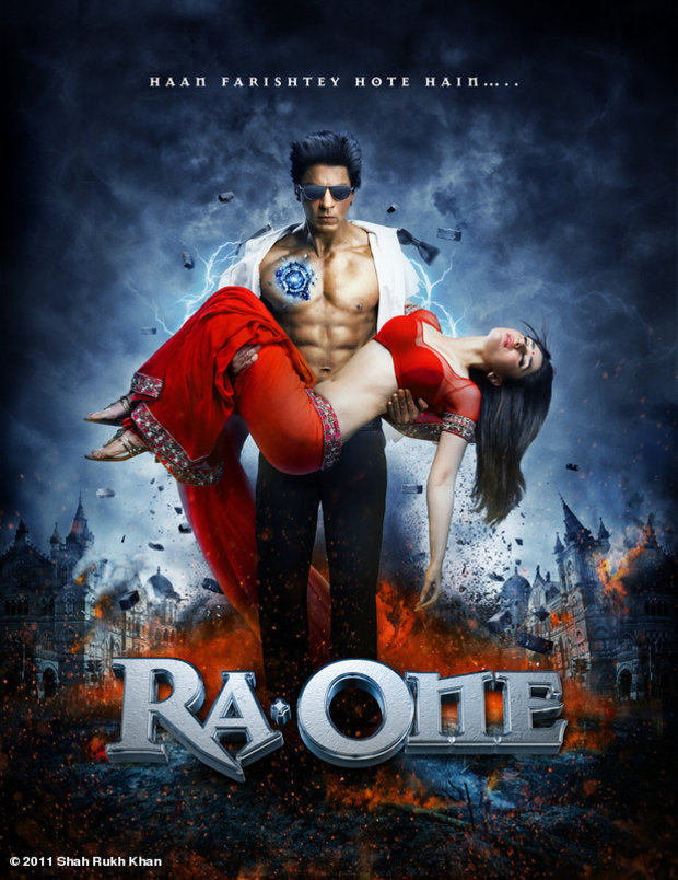 Ra.One - Movie Poster #1 (Original)