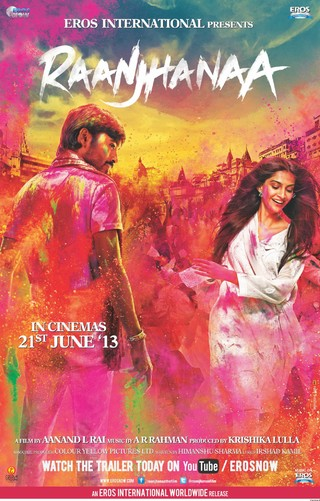 Raanjhanaa - Movie Poster #1 (Small)