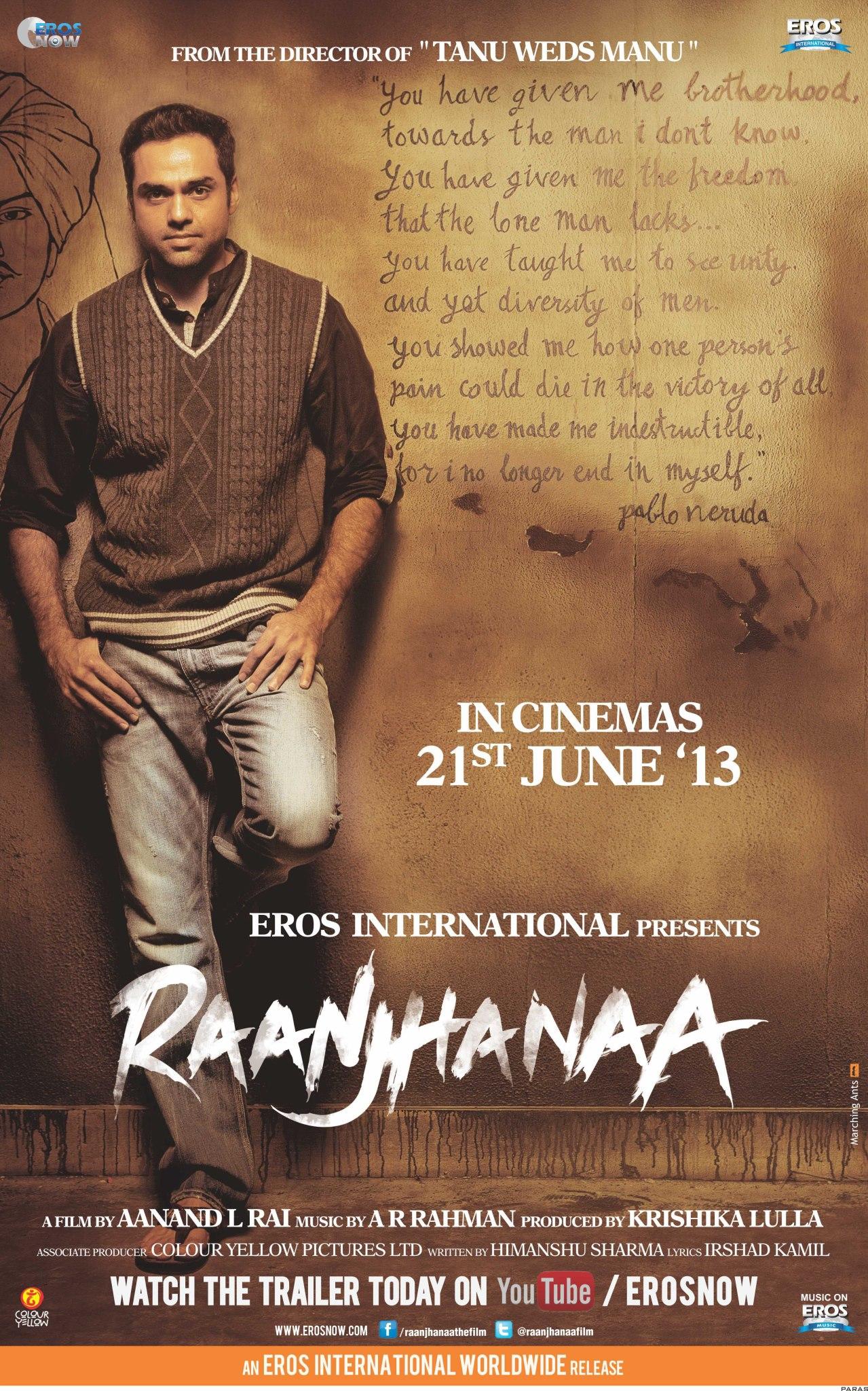 Raanjhanaa - Movie Poster #2 (Original)