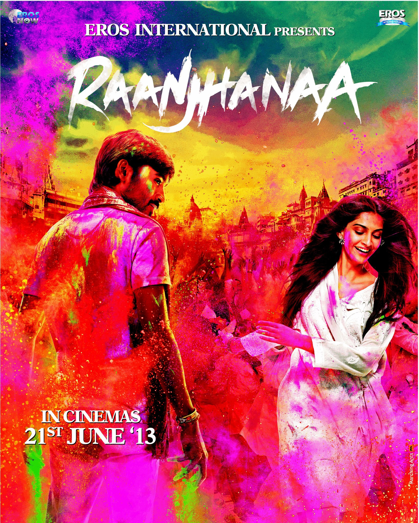Raanjhanaa - Movie Poster #4 (Original)
