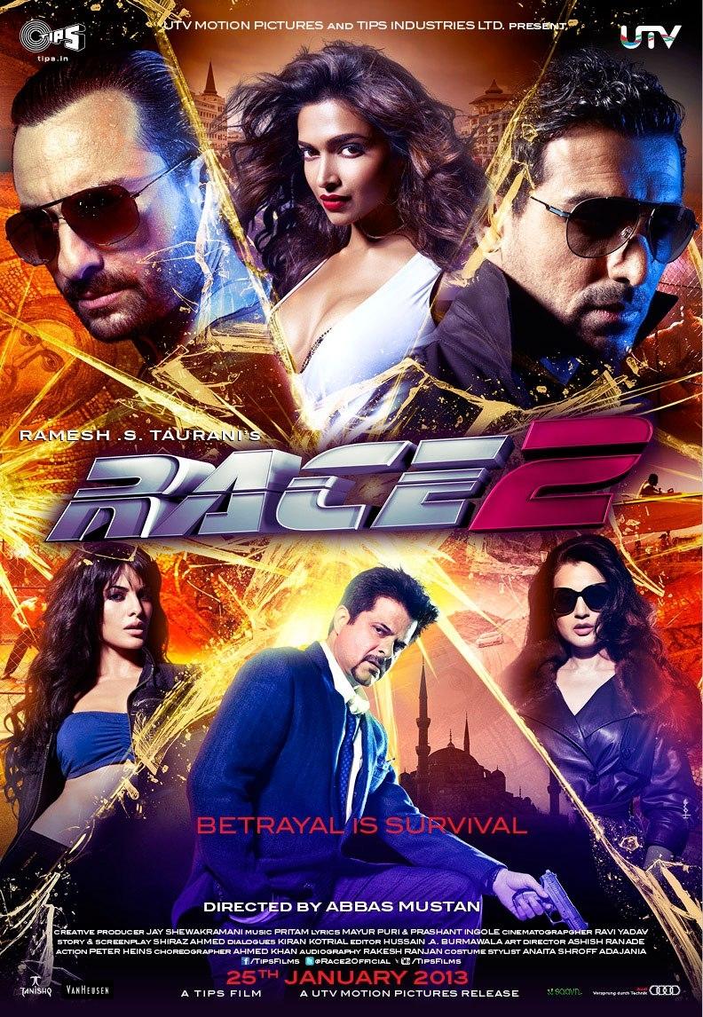 Race 2 - Movie Poster #1 (Original)