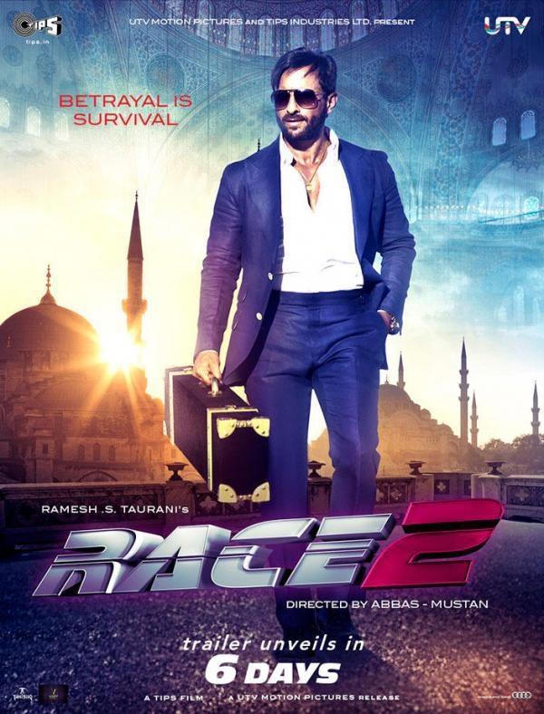 Race 2 - Movie Poster #10 (Original)