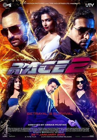 Race 2 - Movie Poster #1 (Small)