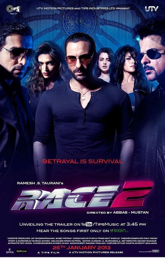 Race 2 - Movie Poster #2