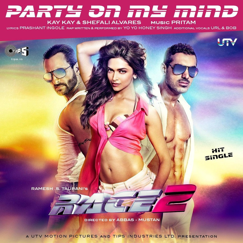 Race 2 - Movie Poster #3 (Large)