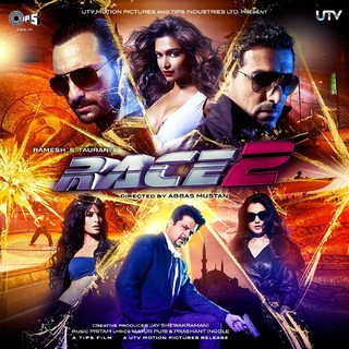 Race 2 - Movie Poster #4 (Small)