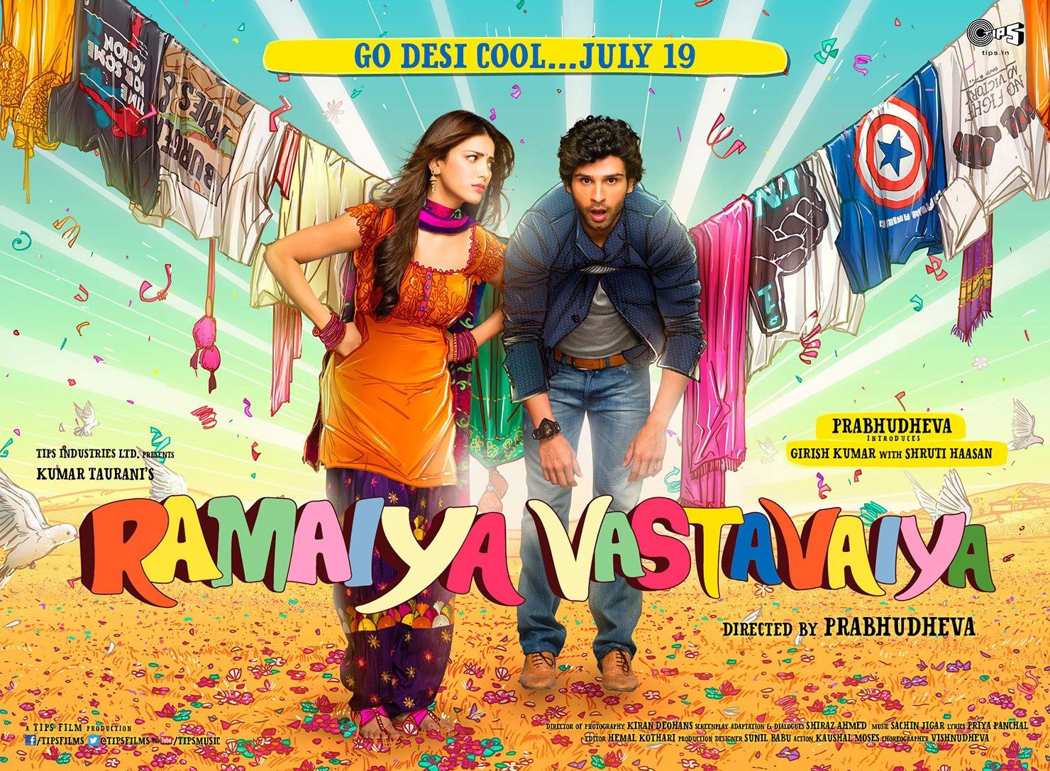 Ramaiya Vastavaiya - Movie Poster #11 (Original)